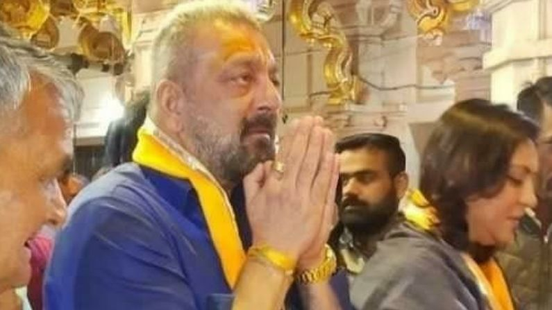 Sanjay Dutt Reached Sawalia Ji For Darshan At Udaipur Rajasthan 3