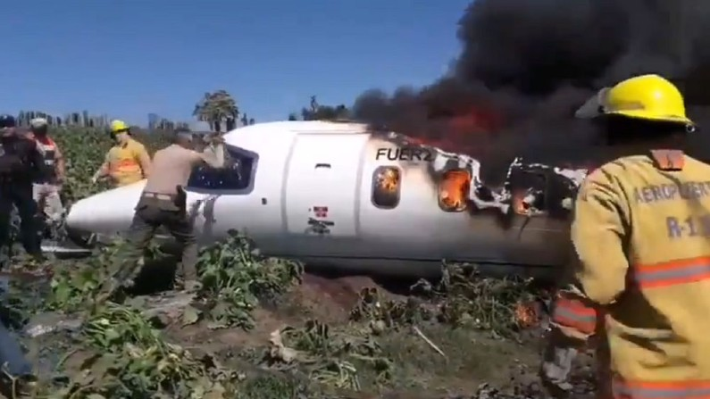 Mexico Plane Crash: 6 military personnel killed in crash in Air Force aircraft in Mexico