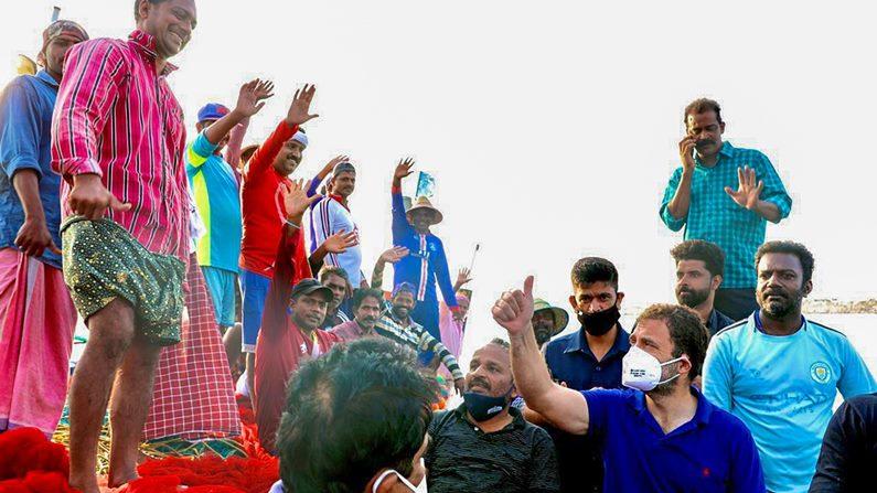 Rahul Gandhi In Sea 7