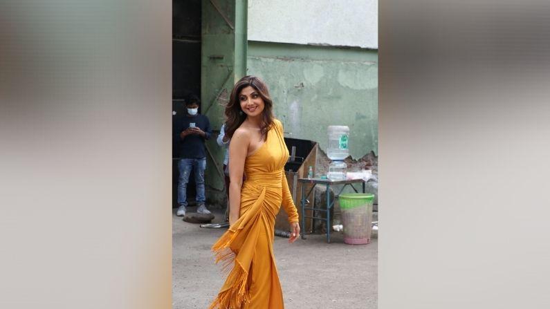 Shilpa Yellow Dress