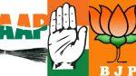 Aap Bjp And Congress