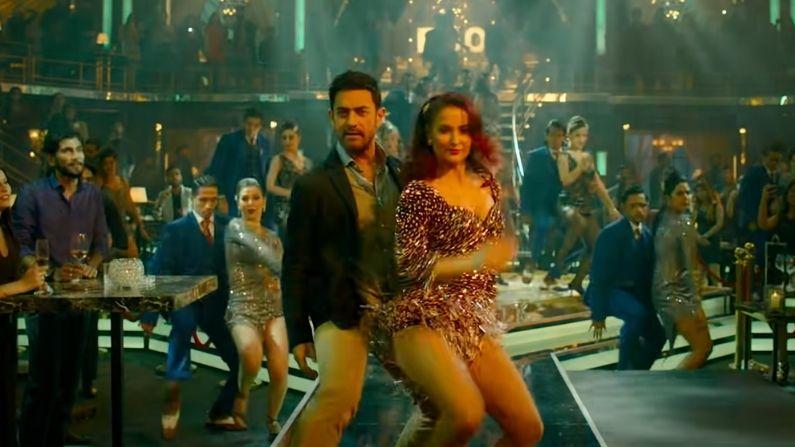 Har Funn Maula Teaser : आमिर खान ने दिखाया अपना 'हरफनमौला' अंदाज, एली संग  लगाए जबरदस्त ठुमके   aamir khan bold dance with elli avrram in har funn  maula song आमिर खान