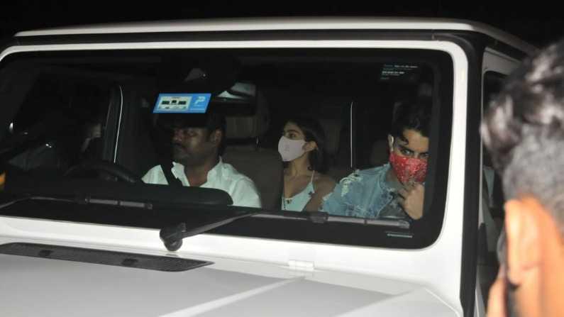 Ibrahim Ali Khan arrives at Kareena Kapoor's house with sister Sara on birthday, except mother Amrita Singh, see photos Funny Jokes