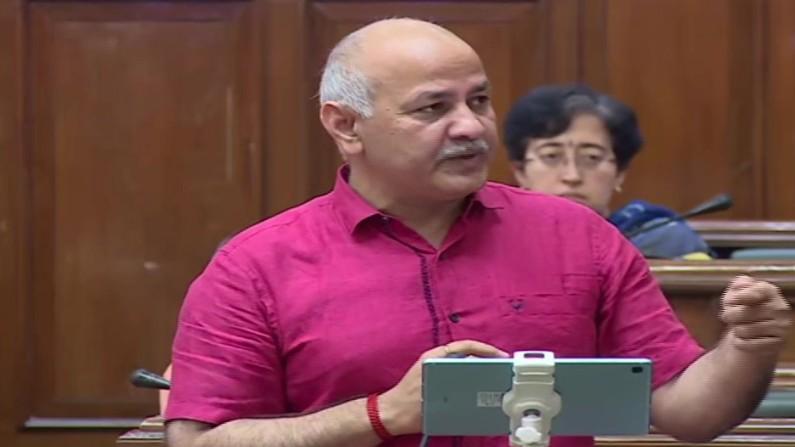Manish Sisodia In Delhi Assembly 121