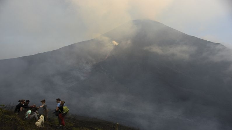 Guatemala's Pacaya Volcano