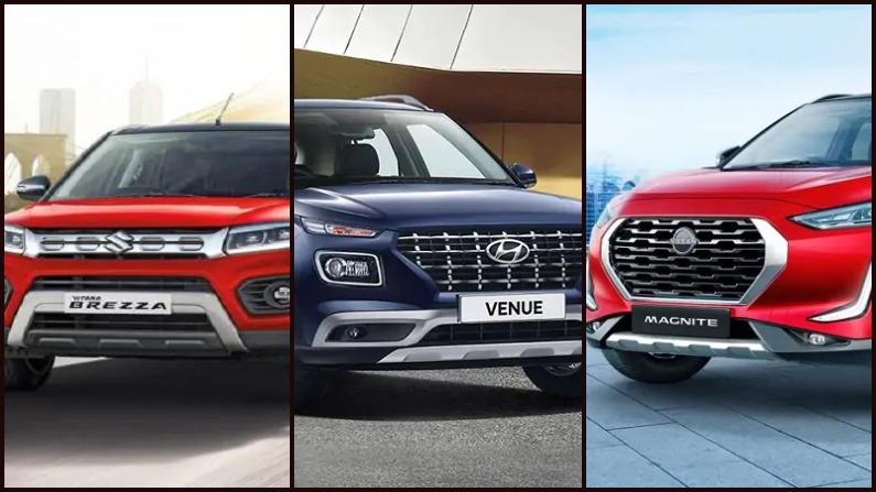 Top 10 SUV sold in march, top 10 SUVs,Maruti Suzuki Vitara Brezza,Hyundai Venue,Tata Nexon,Kia Sonet,Ford EcoSport,Renault Kiger,Nissan Magnite,Toyota Urban Cruiser,Mahindra XUV300,Honda WRV