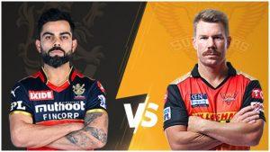 SRH vs RCB Live Score In Hindi