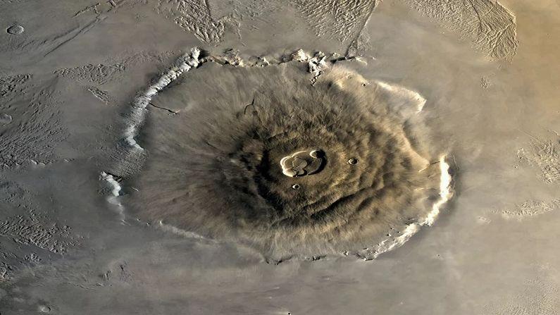 Olympus Mons, marzo