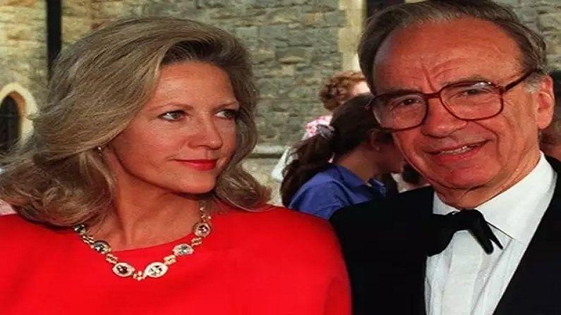 Rupert Murdoch And Anna Maria Mann