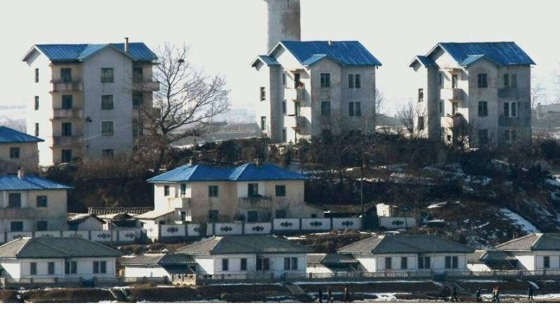 North Korea Village