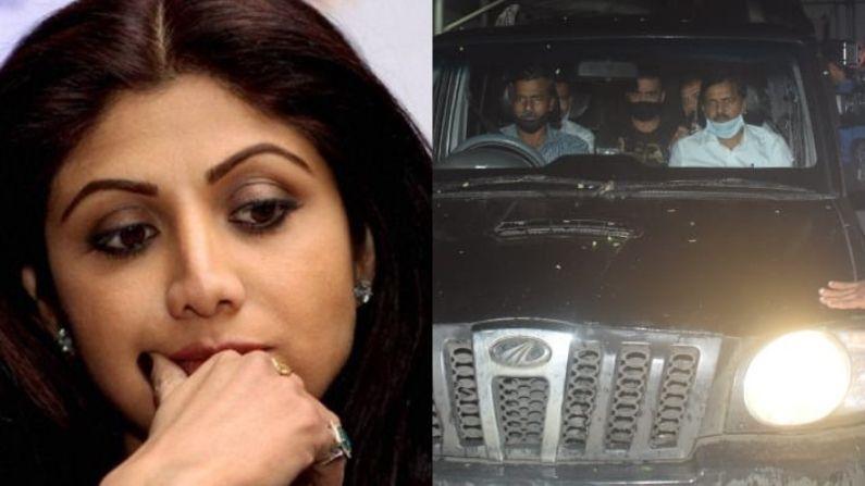 कड़ी पूछताछ: अब होगा खुलासा, क्या शिल्पा शेट्टी का भी था राज कुंद्रा के काले धंधों में हाथ? क्राइम ब्रांच पर सभी की नजरें