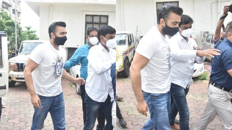 Photos : राज कुंद्रा पहुंचे भायखला जेल, 23 जुलाई तक रहेंगे कस्टडी में