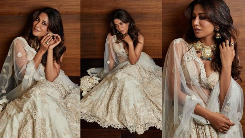 So Expensive: Chitrangada is looking very gorgeous in this lehenga, but her dress is very expensive
